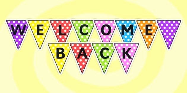 Welcome Back Sign Template Awesome Best Free In Birthday Wel E Printable Flag Banner