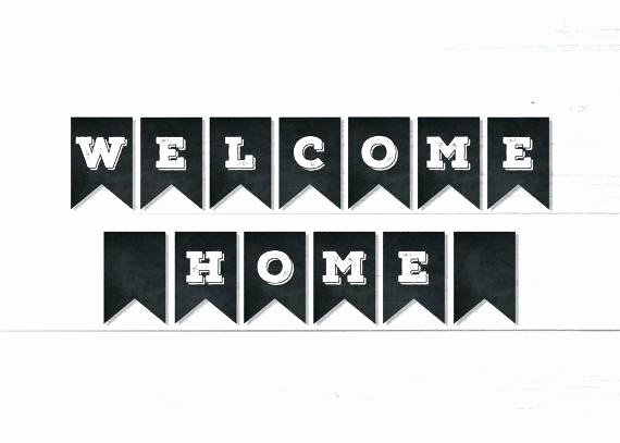 Welcome Back Sign Template Best Of Free Printable Wel E Home Banner Back Sign Template In