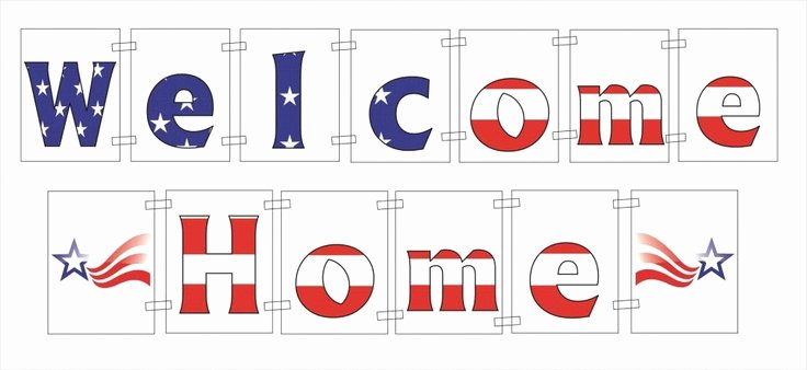 Welcome Back Sign Template Elegant 5 Best Of Free Printable Wel E Home Banner