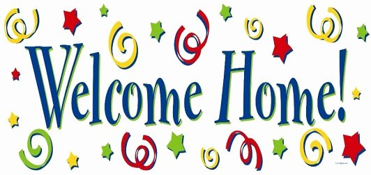 Welcome Back Sign Template Elegant Free Wel E Home Clipart