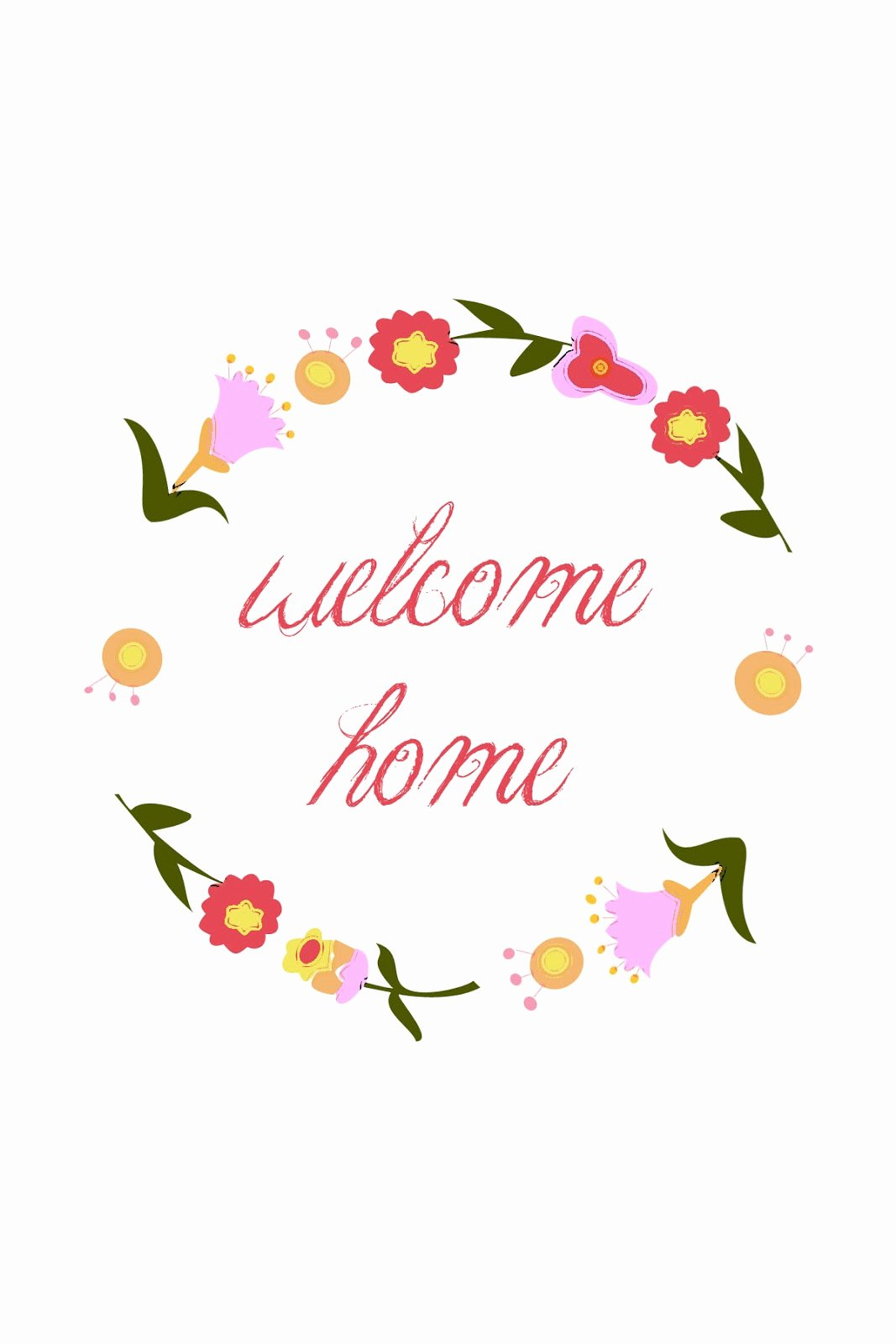 Welcome Back Sign Template Unique Wel E Home Printable Sugar Bee Crafts