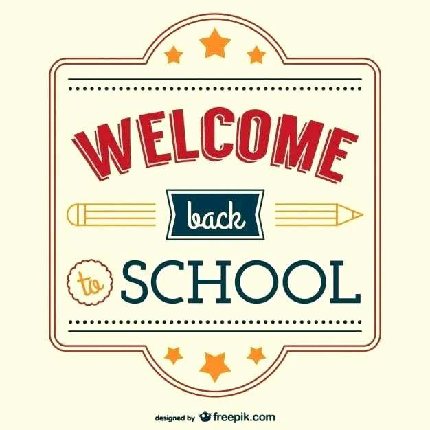 Welcome Back Sign Template Unique Wel E Sign Template
