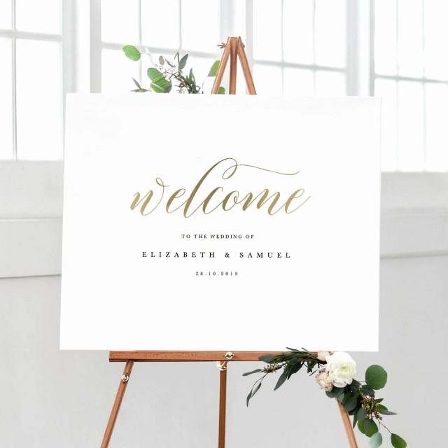 Welcome Sign Template Free Elegant Wel E to Our Wedding Sign Template Printable Wel E