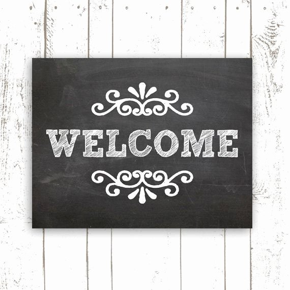 Welcome Sign Template Free Lovely Pinterest • the World's Catalog Of Ideas