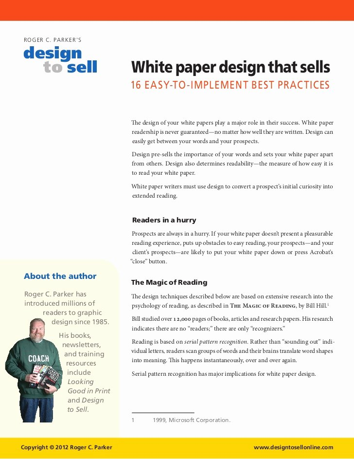 White Paper Design Template Awesome White Paper Design Tips that Sell