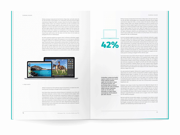 White Paper Design Template Awesome White Paper Template for Indesign On Behance