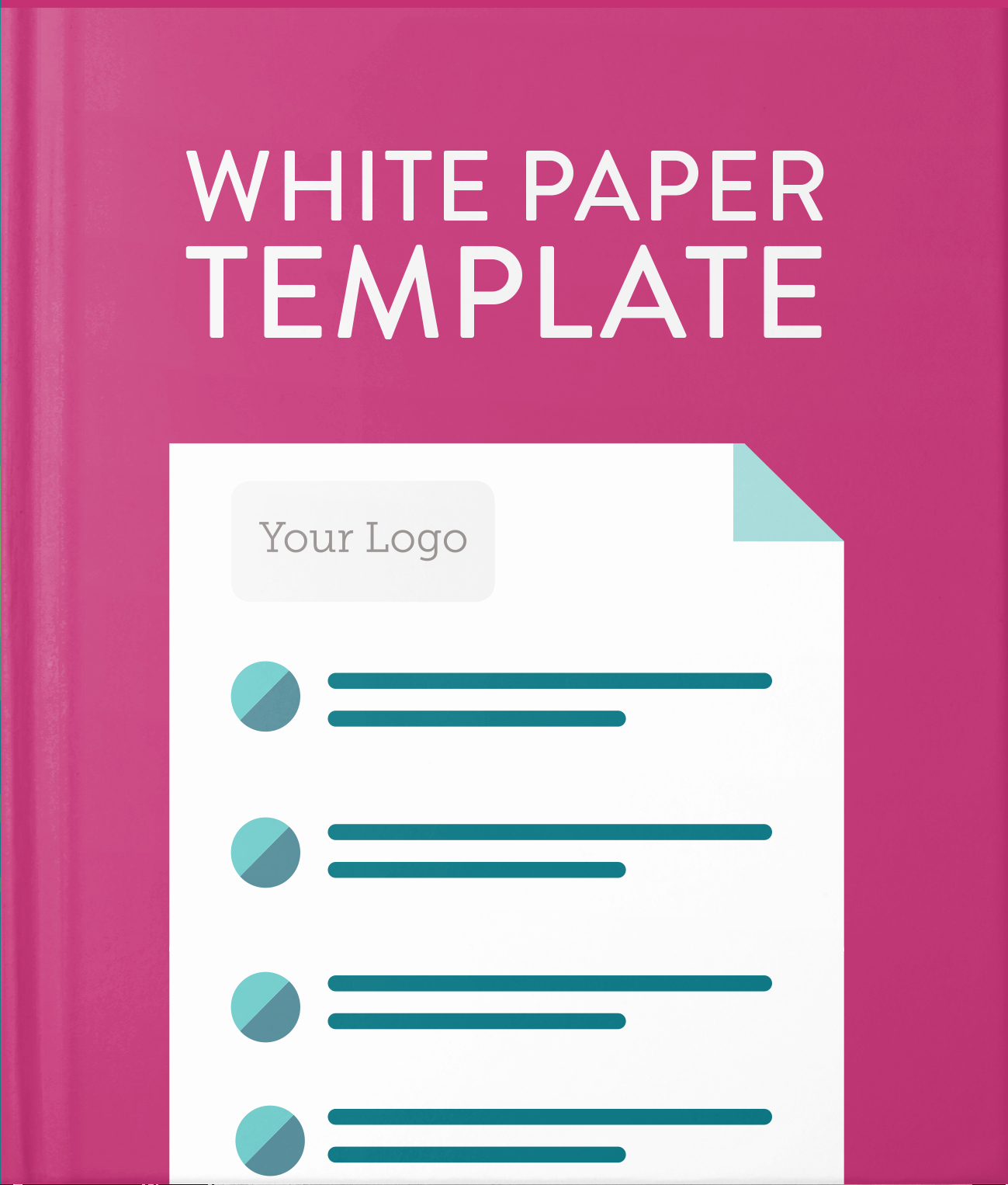 White Paper Design Template Fresh White Paper Template Hatchbuck