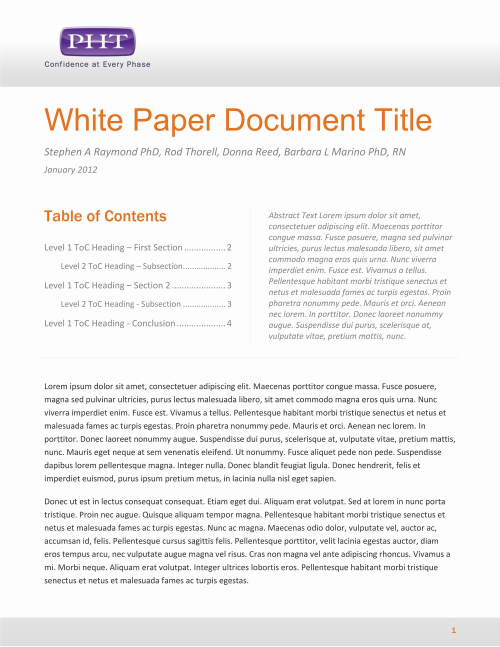 White Paper Design Template Lovely Paper White Paper Template