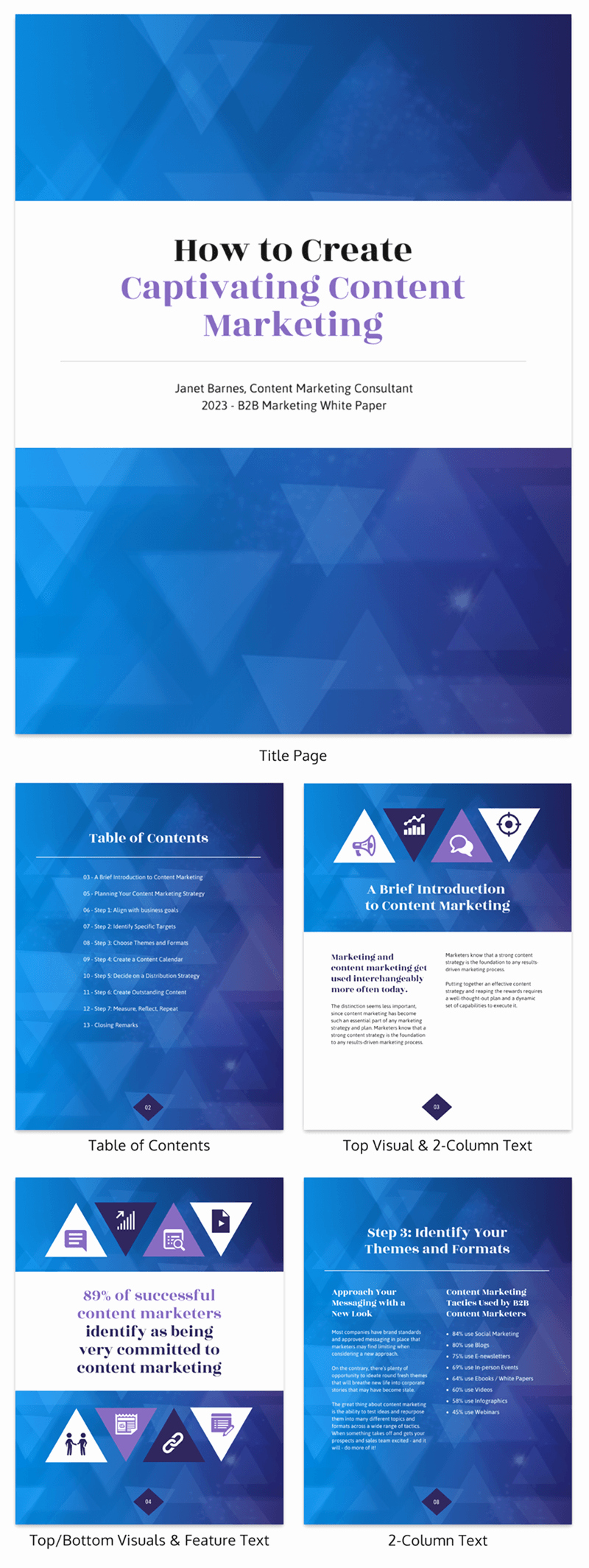 White Paper Design Template Luxury 20 Page Turning White Paper Examples [design Guide