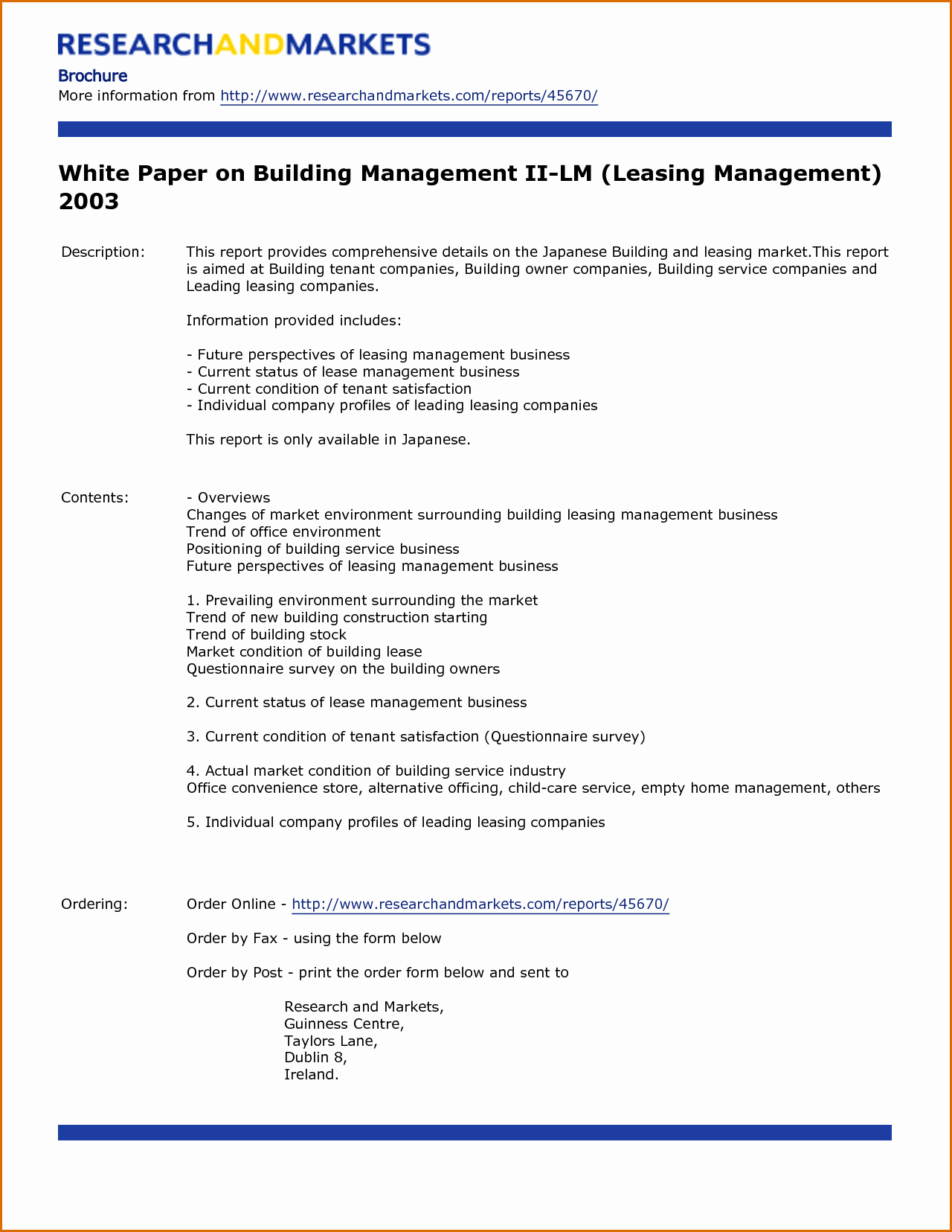 White Paper Template Doc Awesome Paper White Paper Template