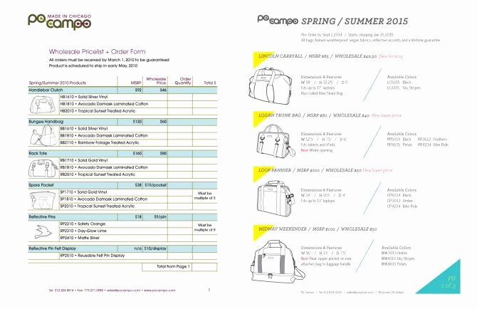 Wholesale Line Sheet Template Lovely wholesale Line Sheet Template Free Download Word