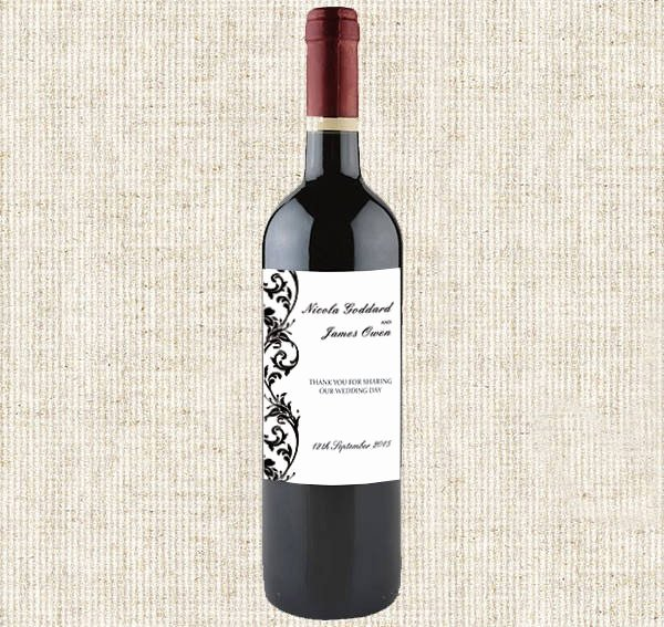 Wine Bottle Tag Template Elegant 16 Wine Bottle Label Templates Design Templates