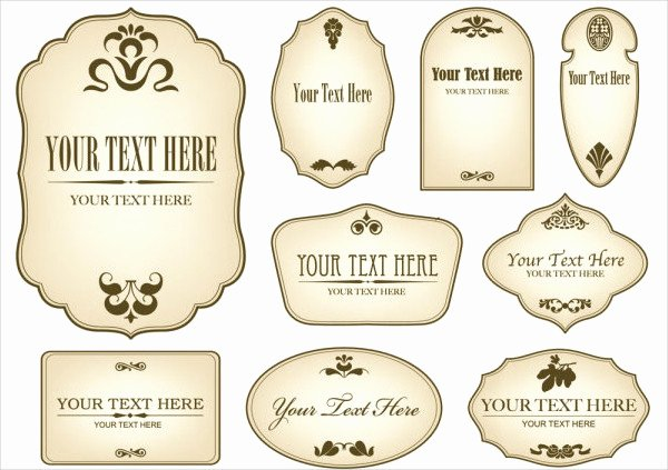 Wine Bottle Tag Template Luxury 12 Vintage Bottle Label Templates Free Printable Psd