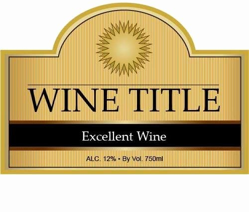 Wine Bottle Tag Template Luxury solar Fire Wine Bottle Label Templates Wine Bottle