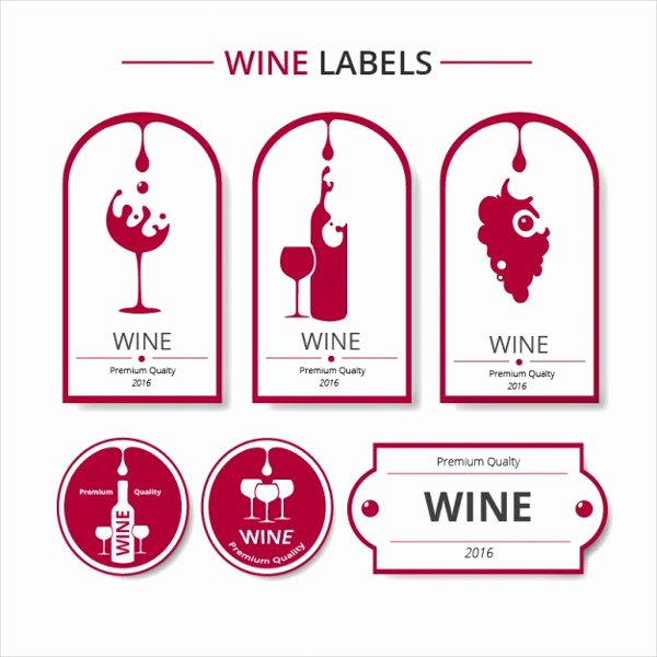 Wine Label Template Free Elegant 61 Downloadable Label Templates