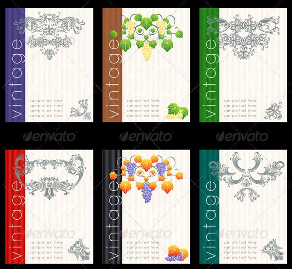 Wine Label Template Free Elegant 80 Best Creative Designs Of Wine Labels & Stickers