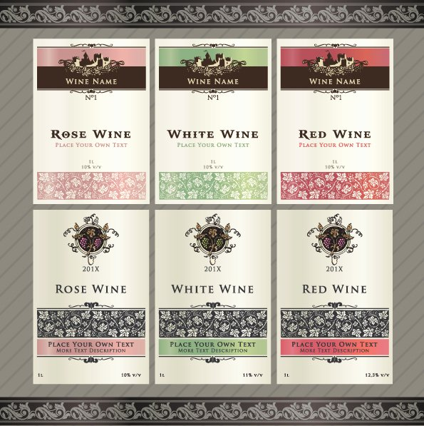 Wine Label Template Free Fresh 7 Best Of Retirement Labels Template Free Printable