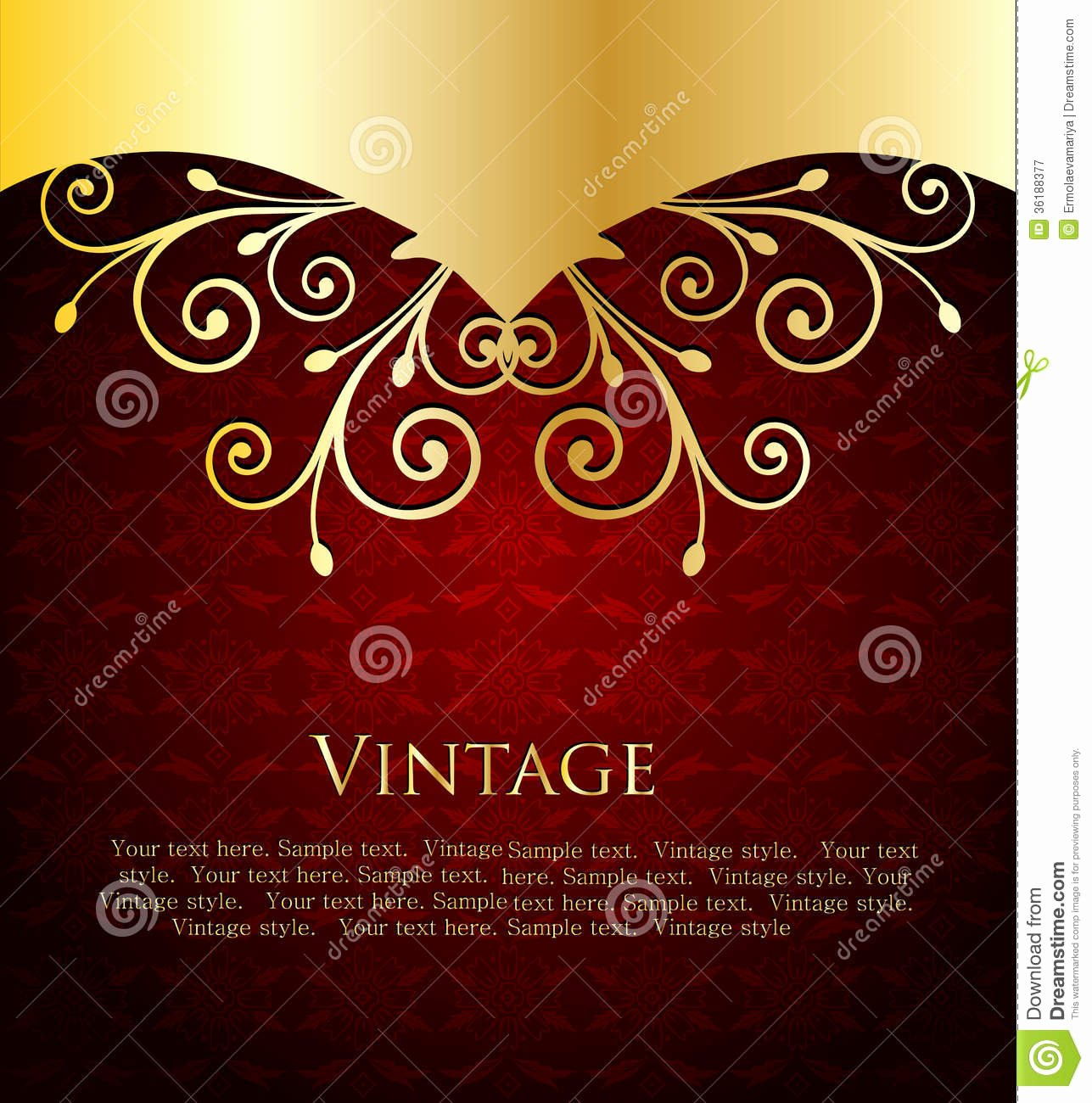 Wine Label Template Free Fresh Red Label Template Vector Stock Vector Illustration Of