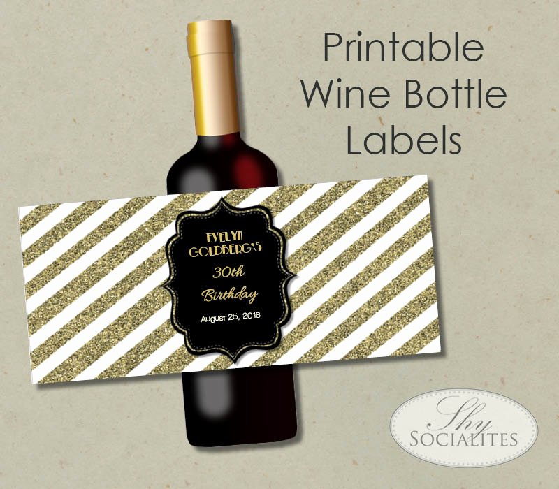 Wine Label Template Free New 53 Label Design Templates