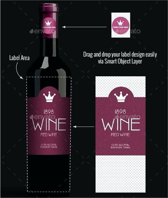 Wine Label Template Photoshop Elegant Image 0 Cv Templates Ideas Wine Bottle Label Template