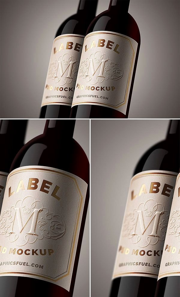 Wine Label Template Photoshop Fresh Free Wine Bottle Label Mockup Psd Antara S Diary