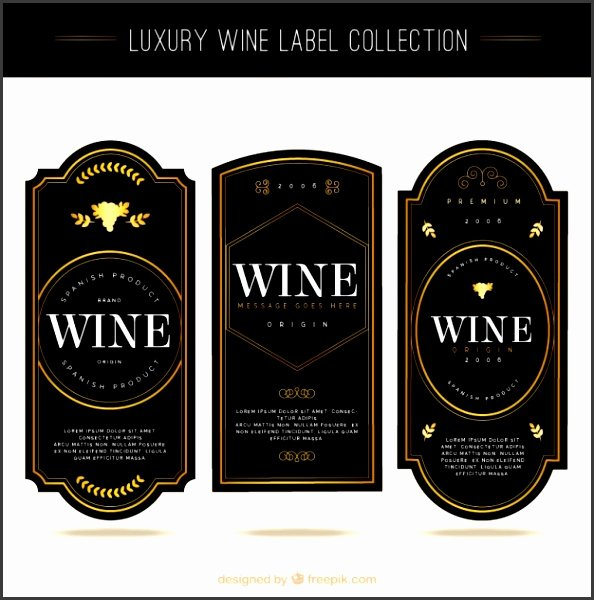 Wine Label Template Photoshop New 7 Wine Label Template Shop Sampletemplatess
