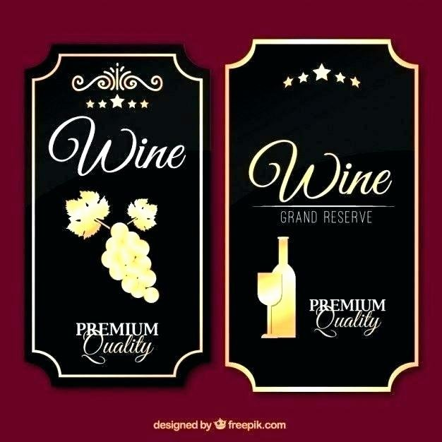 Wine Label Template Word Best Of Wine Label Template Word Tag Free Bottle Templates Water