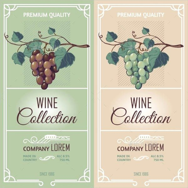 Wine Label Template Word Fresh Wine Label Template