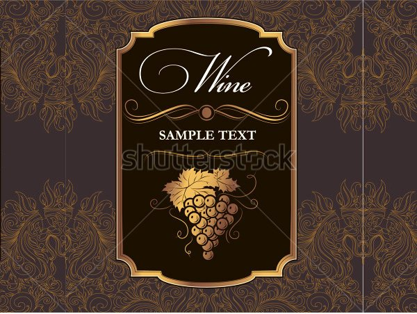 Wine Label Template Word Lovely Wine Label Template