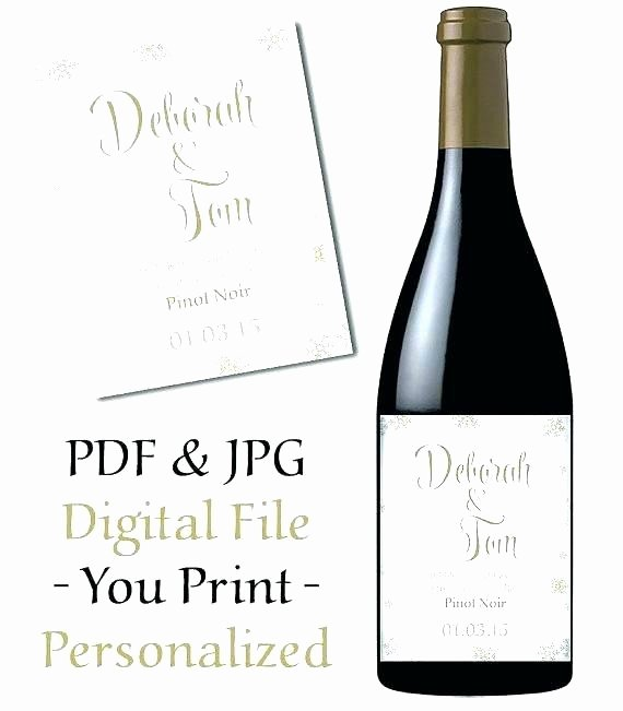 Wine Label Template Word Unique 94 How to Make Wine Labels In Microsoft Word Printable