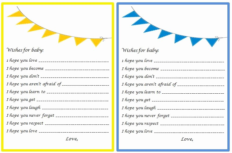Wishes for Baby Template Beautiful Craftivity Designs Bows & Bow Ties Shower the Games