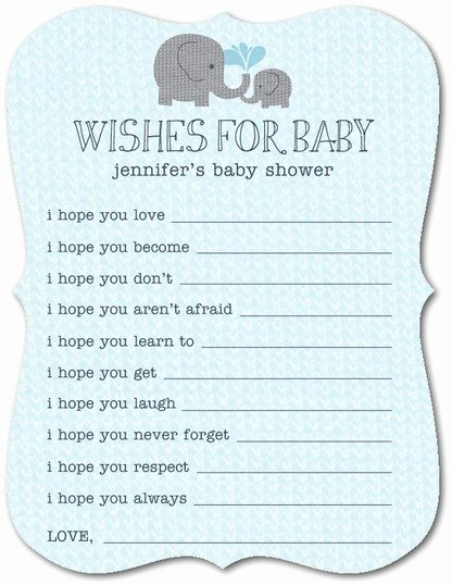 Wishes for Baby Template Best Of Fun Baby Shower Game Ideas 12 Free Game Templates & Game