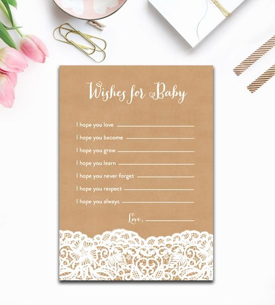 Wishes for Baby Template Elegant 17 Best Ideas About Wishes for Baby On Pinterest