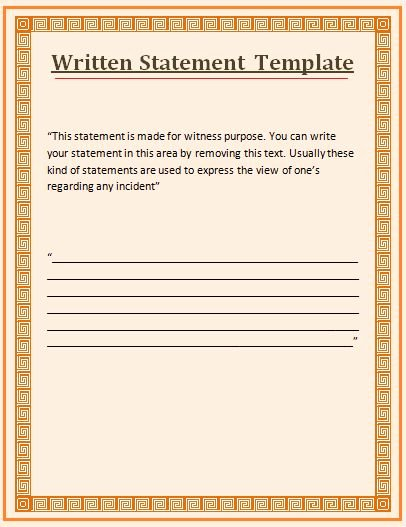 Witness Statement Template Word Best Of 115 Best Fice Work Images On Pinterest