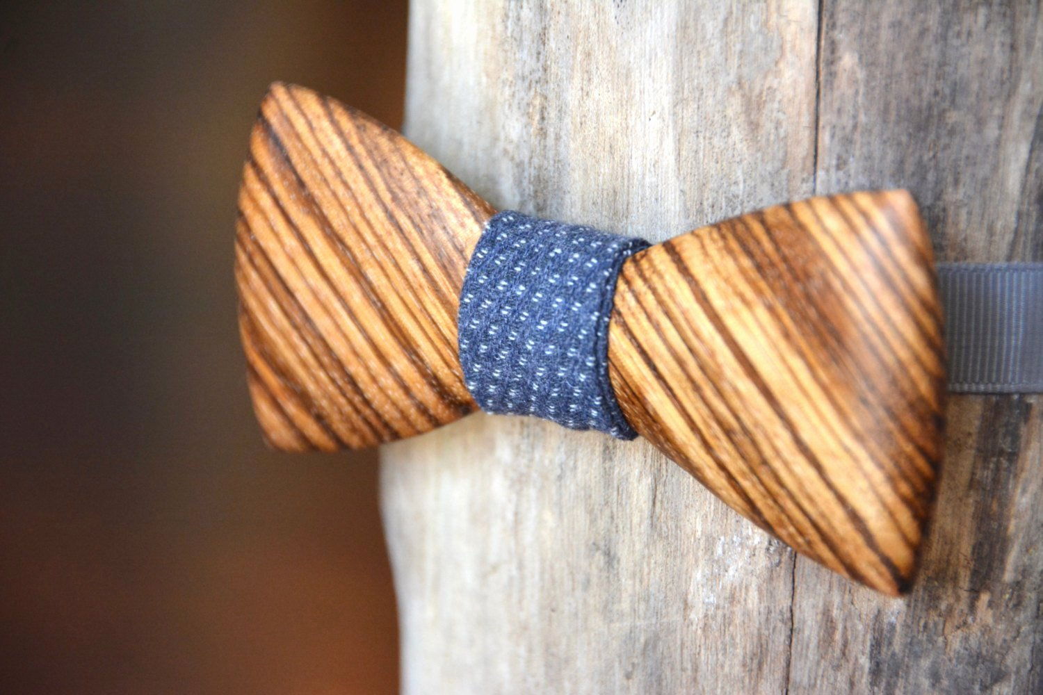 Wooden Bow Tie Template Beautiful Exotic Wooden Bow Tie Zebrawood Wood by Crookedbranchstudio