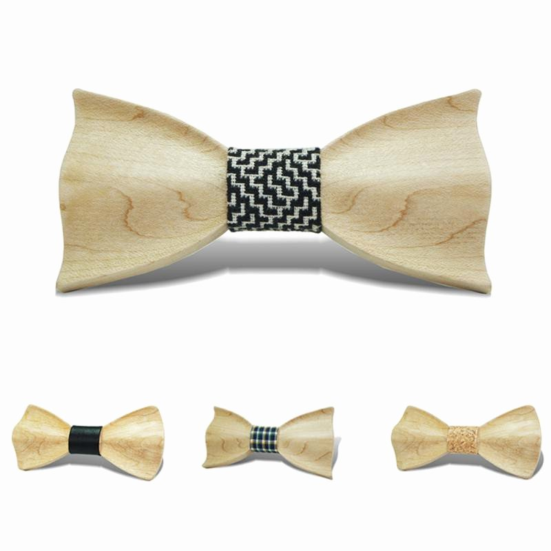 Wooden Bow Tie Template Best Of Men S Multi Color Wood Bow Tie Wooden Weeding Party Bowtie