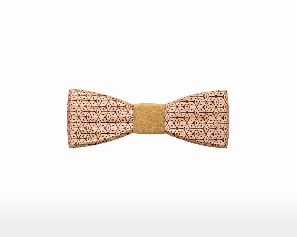 Wooden Bow Tie Template Luxury Wooden Bow Tie Men sole Oak Bewooden