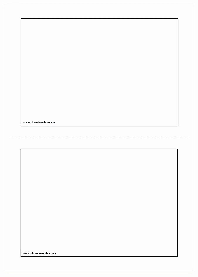 Word Flash Card Template Lovely Flash Card Template In Word format Blank Cards Mini with