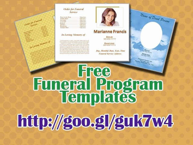 Word Funeral Program Template Lovely 79 Best Funeral Program Templates for Ms Word to Download