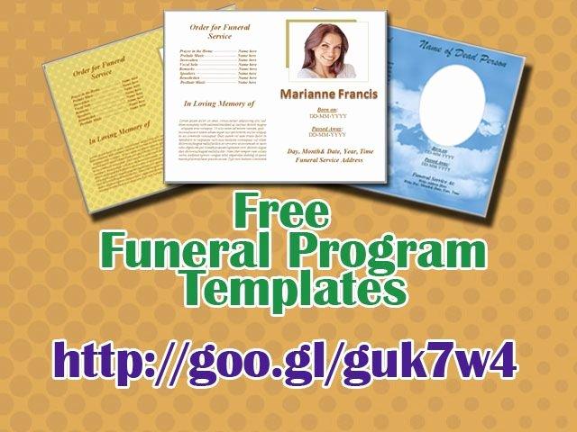 Word Funeral Program Template Lovely 79 Best Funeral Program Templates for Ms Word to Download