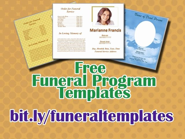 Word Funeral Program Template Luxury 45 Best Funeral Template Images On Pinterest