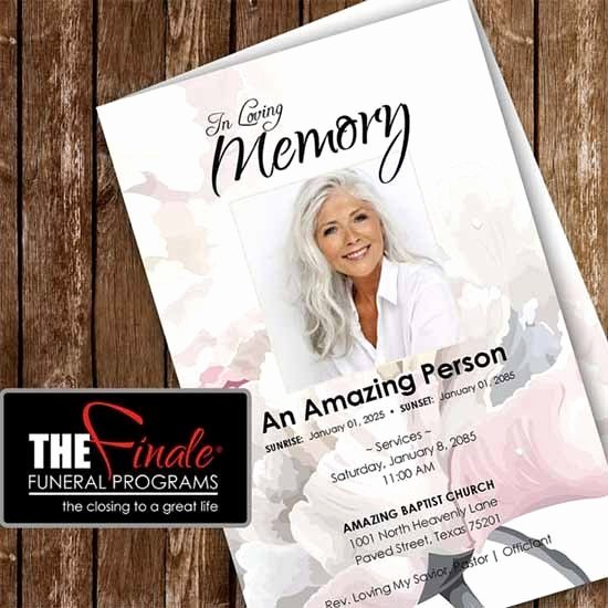 Word Funeral Program Template New 6 Free Funeral Program Templates Excel Pdf formats