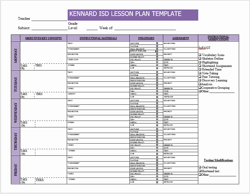 Word Lesson Plan Template Lovely 39 Free Lesson Plan Templates Ms Word and Pdfs Templatehub