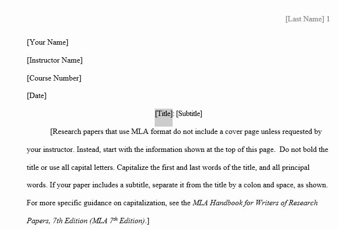 Word Mla format Template Inspirational What the What Word Has An Mla Template