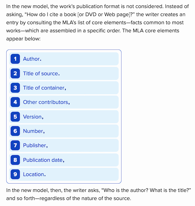 Word Mla format Template Lovely New Mla Style Citation Styles Steelman Library at