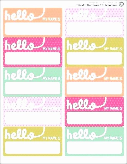 Word Name Tags Template Lovely Printable Name Tag Template Best Templates Ideas Kids