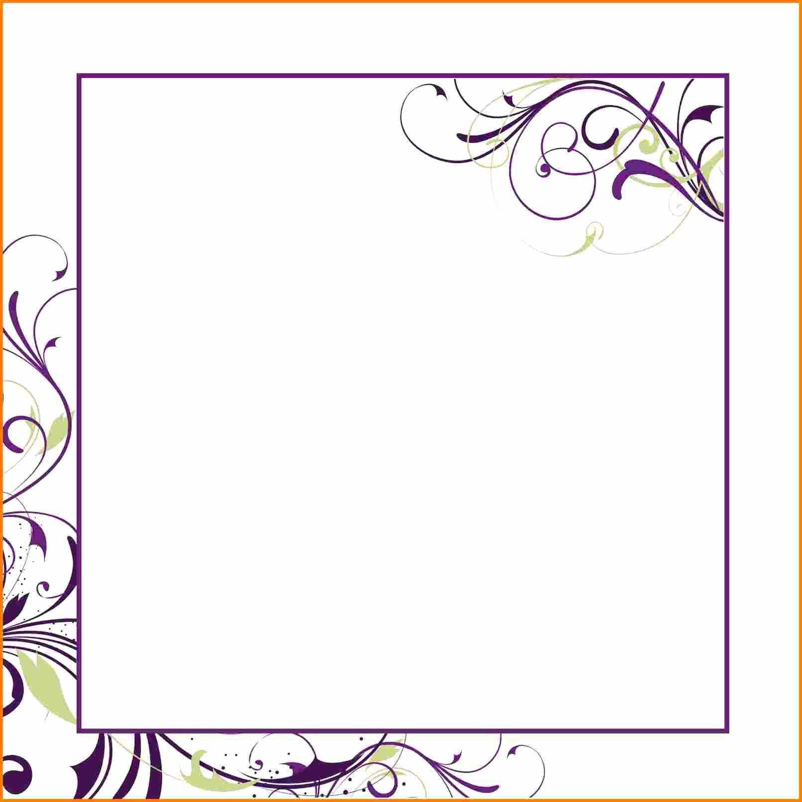 Word Template for Invitations Inspirational Blank Invitation Template for Word – orderecigsjuicefo