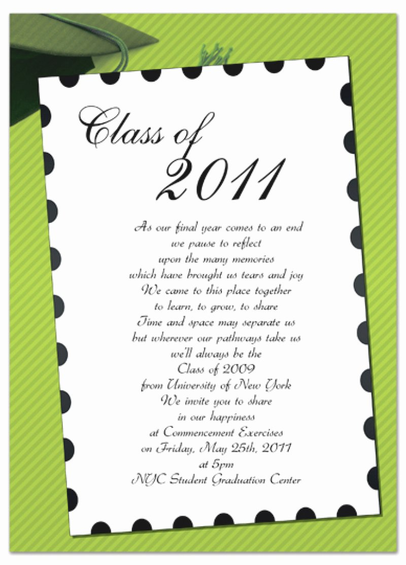Word Template for Invitations Inspirational Free Graduation Invitation Template Word – orderecigsjuice