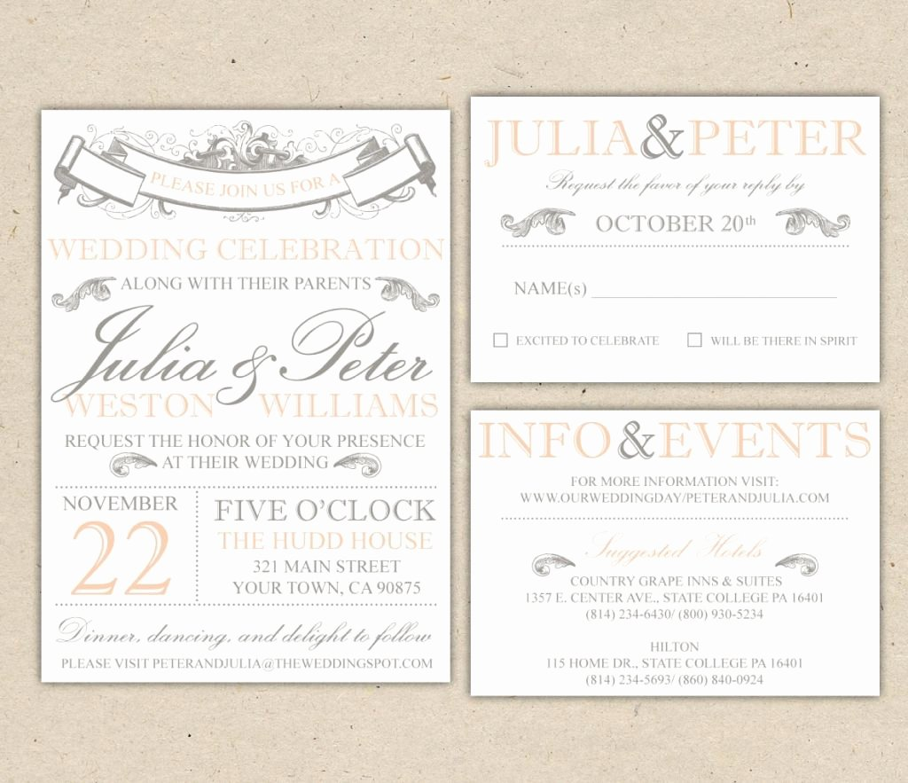 Word Template for Invitations Luxury Beach Wedding Invitation Templates for Microsoft Word