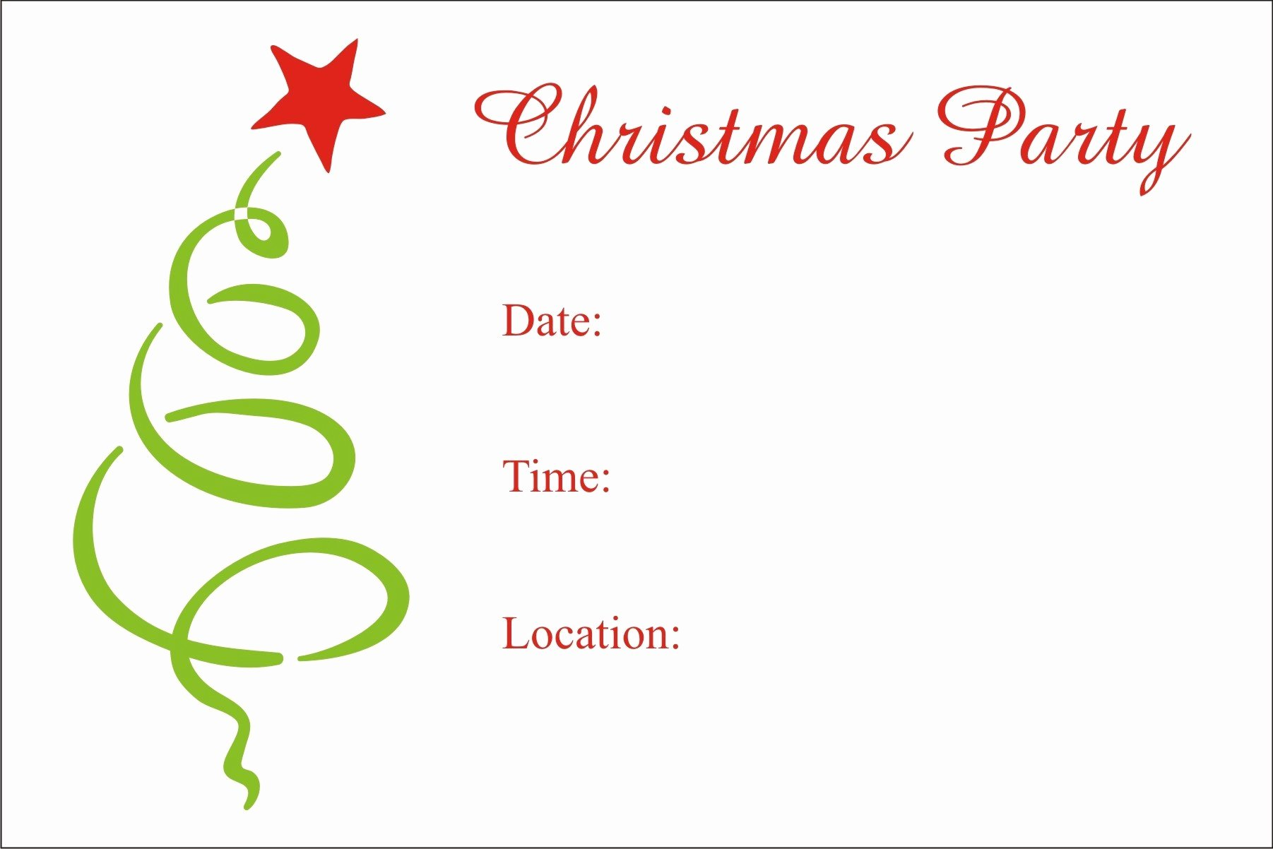 Word Template for Invitations New Holiday Party Invitation Template Word